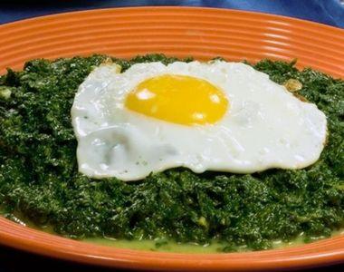 Spanac cu ou. O rețetă sănătoasă și extrem de gustoasă! Secretul acestui preparat
