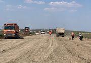 Ministrul Transporturilor a verificat, vineri, stadiului lucrărilor pe şantierul centurii de sud a municipiului Timişoara
