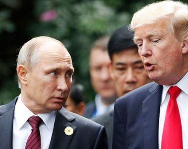 Trump și Putin, mesaj comun. Premieră după 10 ani