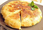 Omleta cu cartofi. Foarte ușor de preparat și extrem de gustoasă. Rețeta, pas cu pas!