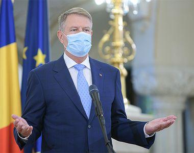 Preşedintele Klaus Iohannis discută măsurile de gestionare a epidemiei de doronavirus...