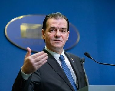 Ludovic Orban anunţă că în Guvern va fi aprobată suma necesară unei donaţii de măşti,...