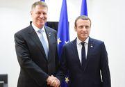 Iohannis a avut o convorbire telefonică cu Emmanuel Macron. Ce au discutat cei doi