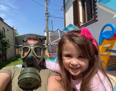 Christian Sabbagh și fiica lui te învață cum sa faci plajă în vreme de covid-19