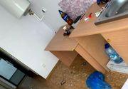 VIDEO| Un centru de carantină din Galați, distrus de cei recent întorși în țară din zonele roșii