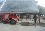 Incendiu la un cuptor pentru prelucrarea sticlei în zona Theodor Pallady din Capitală - FOTO