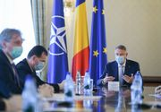 Iohannis se întâlnește cu Orban, Arafat și mai mulți miniștri, la Palatul Cotroceni