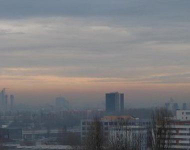 Valorile pentru poluare au depășit cu mult limita admisă în perioada când Bucureştiul a...