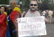 VIDEO  Protest ilegal în Piaţa Victoriei din Bucureşti, în prima zi de stare de alertă