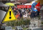 VIDEO| Starea de alertă a adus haos în trafic. Piețele au fost luate cu asalt