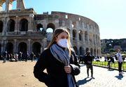 Coronavirus Italia: 875 de cazuri de infectare şi 153 de decese, în ultimele 24 de ore