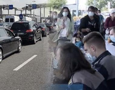 VIDEO| Năvală fără frontiere: Scene de haos în vămi