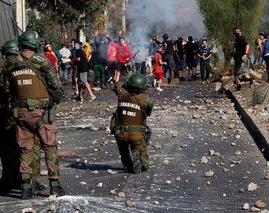 Chile - Confruntări violente din cauza lipsei alimentelor pe fondul crizei sanitare