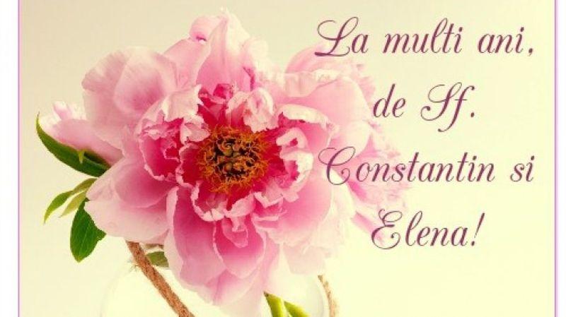 Felicitari Sf Constantin si Elena 2020