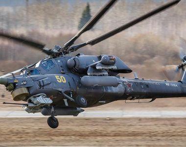 Echipajul unui elicopter polivalent militar de tip Mi-8 moare în urma prăbuşirii...