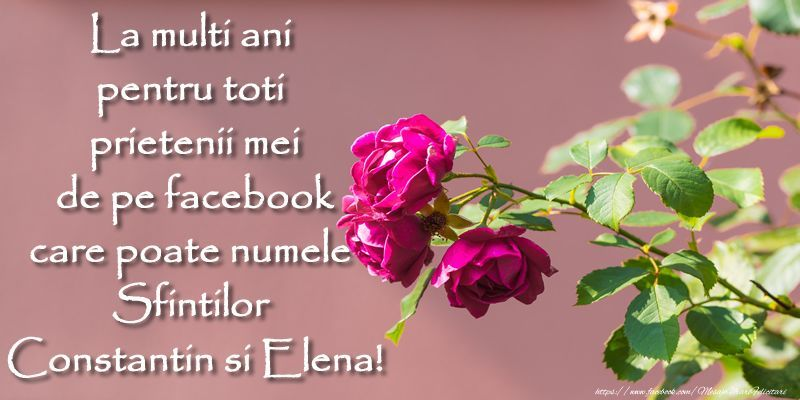 Imagini cu text de Sf. Constantin şi Elena pentru Facebook