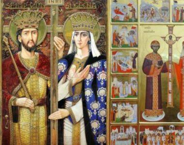 Ce sărbătoare este azi, 21 mai 2020? E cruce roşie în calendarul ortodox