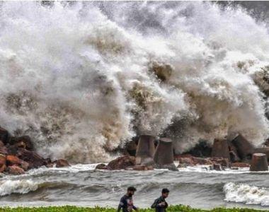 Ciclonul Amphan. O noapte de teroare în India şi Bangladesh: Totul este devastat!