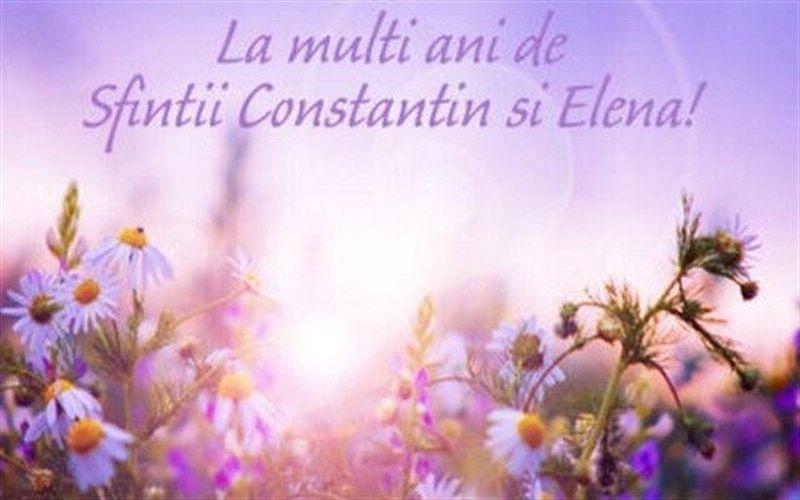 La mullţi ani, Constantin! La mulţi ani, Elena!