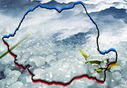VIDEO   Sudul ţării, albit de gheaţă
