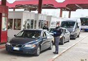 Poliţia de Frontieră: 22.900 de persoane au intrat în ţară joi, 16.200 din Ungaria