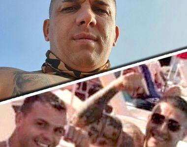 """Polițistul care și-a măsurat mușchii cu """"Beleaua"""" Corduneanu, la o halbă de bere, a..."""