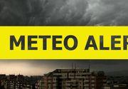 Tornadă apărută în Bihor. Meteorologii au emis o avertizare specială până miercuri - FOTO