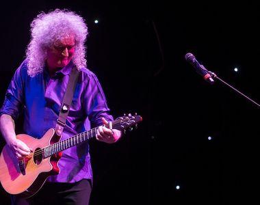 """Brian May, chitaristul grupului Queen, """"aproape de moarte"""" din cauza unui infarct"""