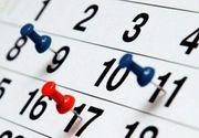 Sărbători legale 2020. Urmează două weekenduri prelungite pentru români. Câte zile libere vor fi