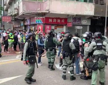 Cresc tensiunile internaționale. UE cere Chinei să respecte autoritatea Hong Kong-ului