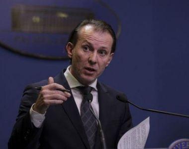 Florin Cîţu, despre planul de relansare economică