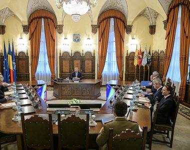 Consiliul Suprem de Apărare a Ţării se reuneşte miercuri. Ce proiecte sunt pe ordinea...