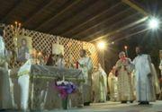 VIDEO| Slujba de Înviere, cu repetiție, la Constanța. Nu au lipsit incidentele