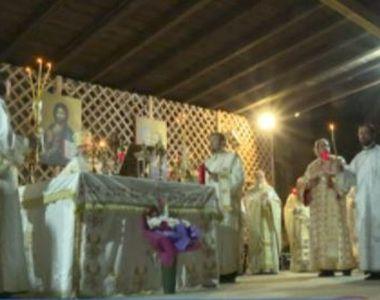 VIDEO| Slujba de Înviere cu repetiție la Constanța. Nu au lipsit incidentele