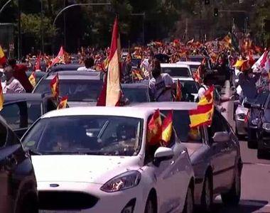 Furtună politică în Spania, în prima zi de doliu naţional, în urma unei anchete...