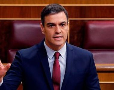 Premierul spaniol Pedro Sanchez vrea să prelungească izolarea în Spania până la 21 iunie