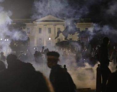 """Ciocniri în apropiere de Casa Albă; Trump vrea să declare """"antifa"""" organizaţie teroristă"""