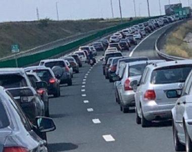 Avertizare Infotrafic: Trafic intens pe A2 Bucureşti - Constanţa