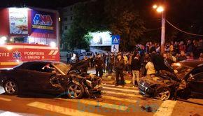 Accident grav în Botoșani. Șoferul făcea live pe Facebook VIDEO