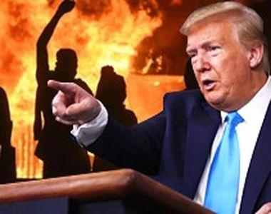 VIDEO | O revoltă greu de oprit. Donald Trump ameninţă cu armata