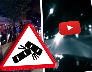 VIDEO | Accident cumplit în direct pe internet