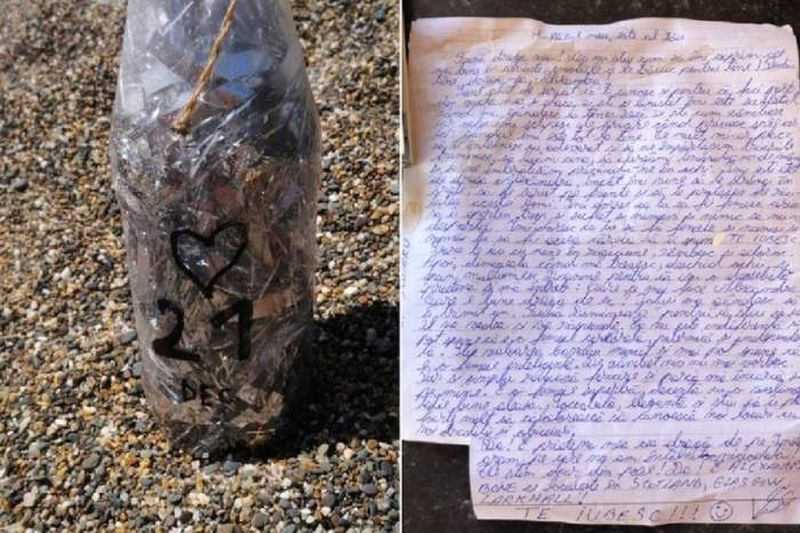 scrisoare de dragoste plajă irlanda