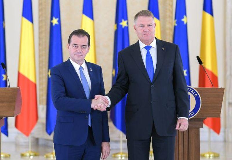 Klaus Iohannis şi Ludovic Orban