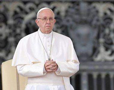 """Papa Francisc se roagă pentru """"George Floyd şi pentru toţi cei care şi-au pierdut viaţa..."""
