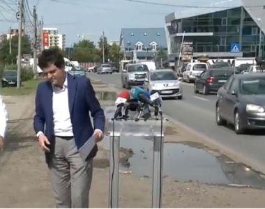 Aurelian Bădulescu s-a îmbrâncit cu Nicușor Dan în timpul unei conferințe