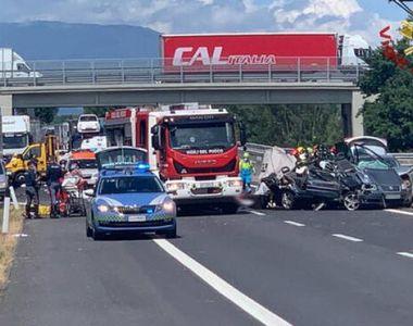 VIDEO| O familie de români, decimată într-un accident cumplit în Italia