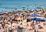 VIDEO  Marea i-a chemat la ea! Mii de turiști pe litoral