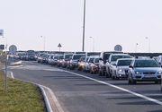 Aglomeraţie pe sensul spre Bucuresti al autostrăzii A2