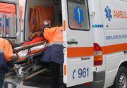 Accident rutier provocat de un şofer de ambulanţă beat
