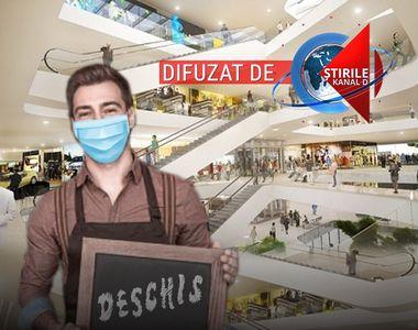 VIDEO  Mall-urile îşi vor redeschide porţile. Din 15 iunie, noi măsuri de relaxare